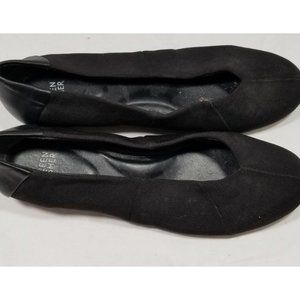 eileen fisher black loafers 9